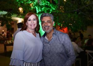 16072019 EN RECIENTE FESTEJO.  Olivia y Gerardo.