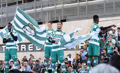 Santos presenta sus nuevos uniformes para el Apertura 2019