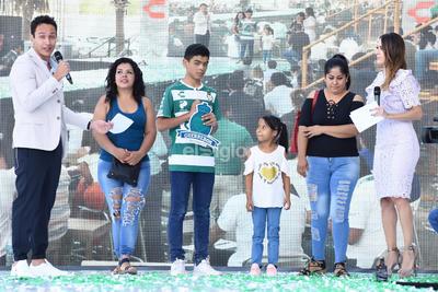 El acto sirvió además, para que los cuatro nuevos refuerzos verdiblancos, realizaran el tradicional Ritual Guerrero en la ceremonia de iniciación. También fue presentada la madrina para la presente campaña, la niña Xóchitl.