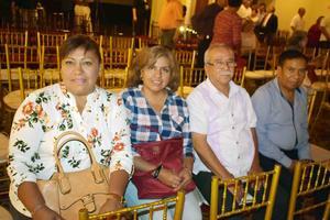 17072019 PRESENTACIóN DE LIBRO.  Ana María, Aracely, Primitivo y Manuel.