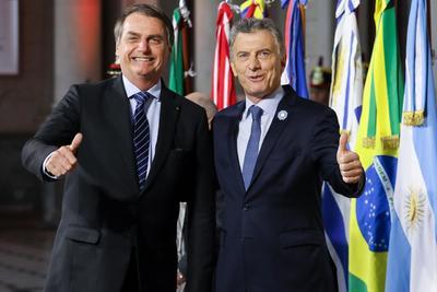 Los presidentes del Mercosur iniciaron su cumbre semestral.