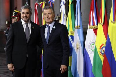 Macri fue el encargado de inaugurar la cumbre.