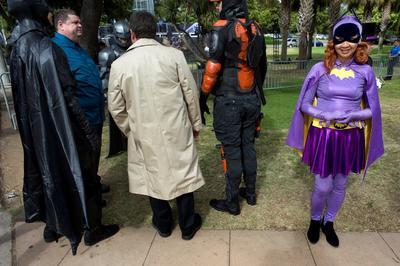 Comic Con celebra 80 aniversario de Batman en Museo