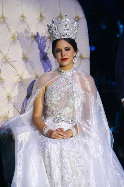 Rachel I, reina de la Fenadu 2019.