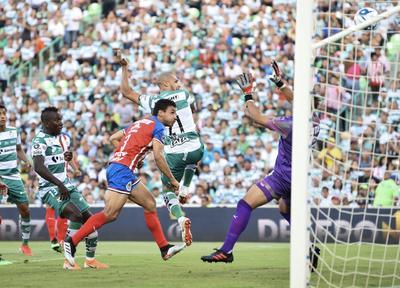 SANTOS VS CHIVAS TORNEO APERTURA 2019  TORNEO DE APERTURA 2019 PRIMER TIEMPO SANTOS 2 CHIVAS DE GUADALAJARA 0 SEGUNDO GOOOOL