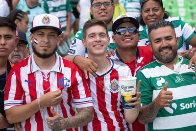 afición  Santos vs Chivas  juego correspondiente a la jornada 1 de la apertura 2019 de la Liga MX en TSM Oficial - Sunday 21 de July de 2019 18:45h