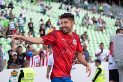 Oribe Peralta  Oribe Peralta Morones #24 Delantero Chivas  Santos vs Chivas  juego correspondiente a la jornada 1 de la apertura 2019 de la Liga MX en TSM Oficial - Sunday 21 de July de 2019 18:45h