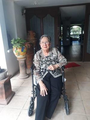 20072019 GRATO FESTEJO.  Doña Elisa Estrada Ostinelli Viuda de Corrales celebró 96 años de vida en casa de la Familia Corrales Estrada.