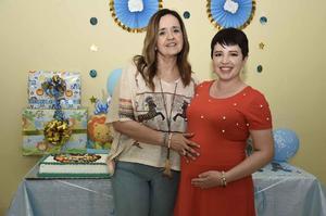 20072019 FIESTA DE CANASTILLA.  Olivia Richards Rodríguez en el baby shower que le organizó Lupita Richards con motivo del próximo nacimiento de su bebé.