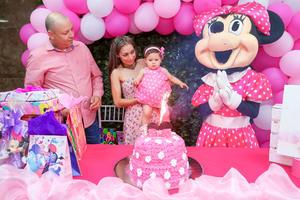 21072019 Renata Loredo Gaspar en su festejo de primer año.