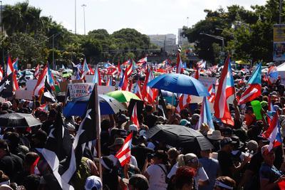 La de hoy, fue la mayor manifestación que se ha realizado.