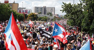 La marcha partió desde el frente del estadio Hiram Bithorn en San Juan y recorrió el expreso Las Américas hasta regresar a su punto de origen.