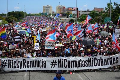 Se agudiza la crisis política en Puerto Rico.