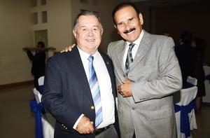 Omar Gutiérrez y Antonio Pérez