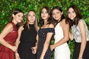 Dany, Regina, Marijose, Zambra y Marla