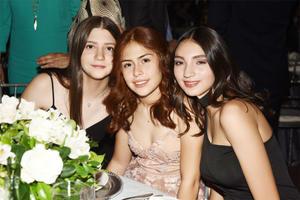 Isabel Fernández, Daniela Rubio y Andrea López