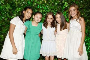 Ivanna Mariscal, Camila García, Ivanna Mexsen, Nerea Tricio y María Fernández