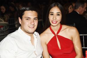 Jafar Mansur y Andrea Arreola