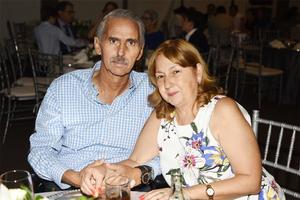 Juan Antonio Murra y Conny González