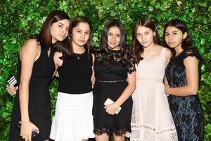 Mariana, Melissa, Valeria, Alessa y Valentina