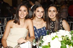 Paulina Pérez, Ximena García e Isabel Calvillo