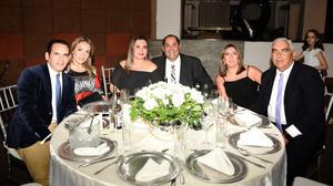 Sergio y Laura, Jaime y Ana, Hugo y Erika