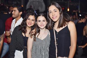 Karla, Ana Carmen y Edna