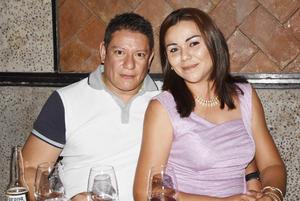 Armando Lucero e Ivonne Abularach