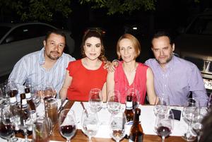 Raúl, Betty, Olga y Sergio