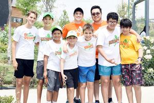 Youp, Patricio, Román, Diego, Daniel, Jorge, Sebastián, Ricardo y Jorge R