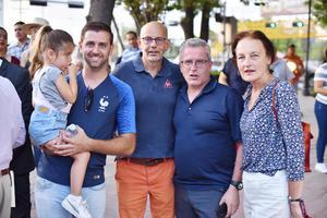 Annique, Claude, Thierry, Arnaud y Antonella