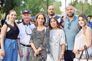 Invitados se dieron cita en la inauguración del Obelisco