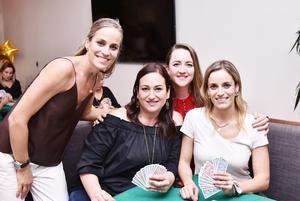 Irene, Pily, Anilú y Alma
