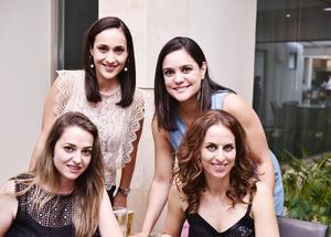 Maty, Sofía, Paty y Lorena