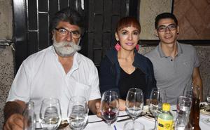 23072019 Othón Gittins G., Rosa María y Omar Gittins.