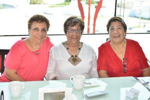 23072019 Estela, Ángeles y Fide.