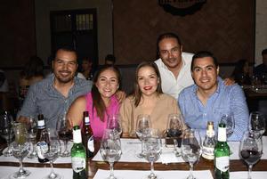 23072019 Hugo Orozco, Paulina González, Cecy Murga, Alejandro Zarzosa y Néstor Toledo.