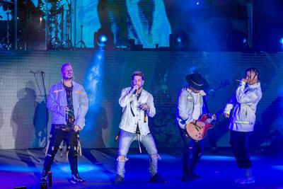 Dim, Pablito, El Profe y Lorduy trajeron su 'Adrenalina World Tour'.