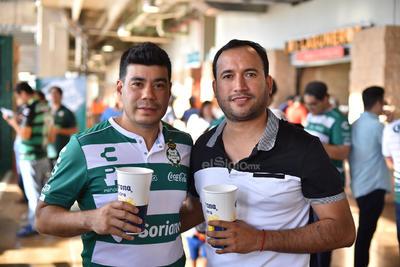 Óscar y Alberto.