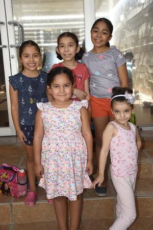 25072019 Isabela, Ximena, Citlali, Estrella y Camila.