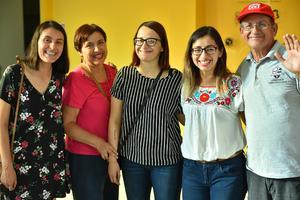 26072019 Alma, Alma Elena, Gaby, Claudia y Ricardo.