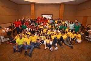 26072019 GRATOS MOMENTOS.  Con la finalidad de ponerse al día y conocer a los nuevos integrantes de la Familia Guerrero, se reunieron en su convención anual, en conocido salón de la ciudad.