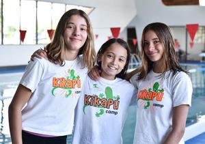 26072019 Caro Carmona, Regina Vargas y Fernanda Carmona.