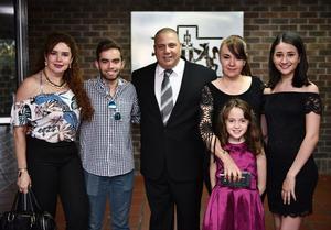 26072019 María Consuelo Hernández, Patricio Herrero, Arturo Novelo y Alberto Flores.
