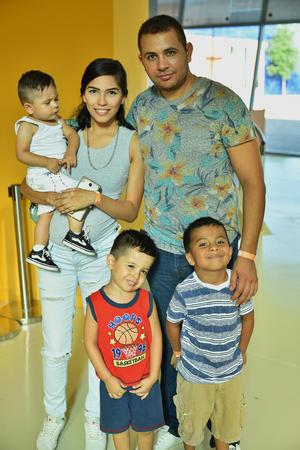 26072019 Manuel, Elda, Ian, Franco y Evan.