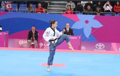 La mexicana Paula Fregoso dio a su país la primera medalla de oro en los Juegos Panamericanos de Lima 2019, tras imponerse este sábado en el poomsae individual femenino de taekwondo.