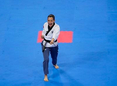 Así, México logra la primera medalla de oro de la justa panamericana con Paula Fregoso y segunda de la jornada, pues minutos antes Marco Arroyo se agenció el bronce en la modalidad varonil.