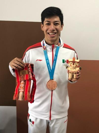 México sumó esta mañana de sábado su primera medalla en los Juegos Panamericanos.