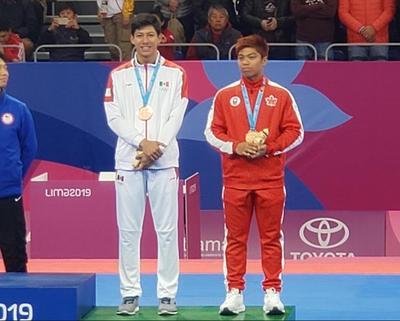 La delegación tricolor ya está presente en el medallero de Lima 2019 gracias al bronce que ganó Marco Horacio Arroyo Aguilar en taekwondo poomsae tradicional.