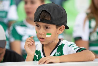 afición  Santos vs FC  juego correspondiente a la jornada 3 de la apertura 2019 de la Liga MX en TSM Oficial - Sunday 28 de July de 2019 18:45h